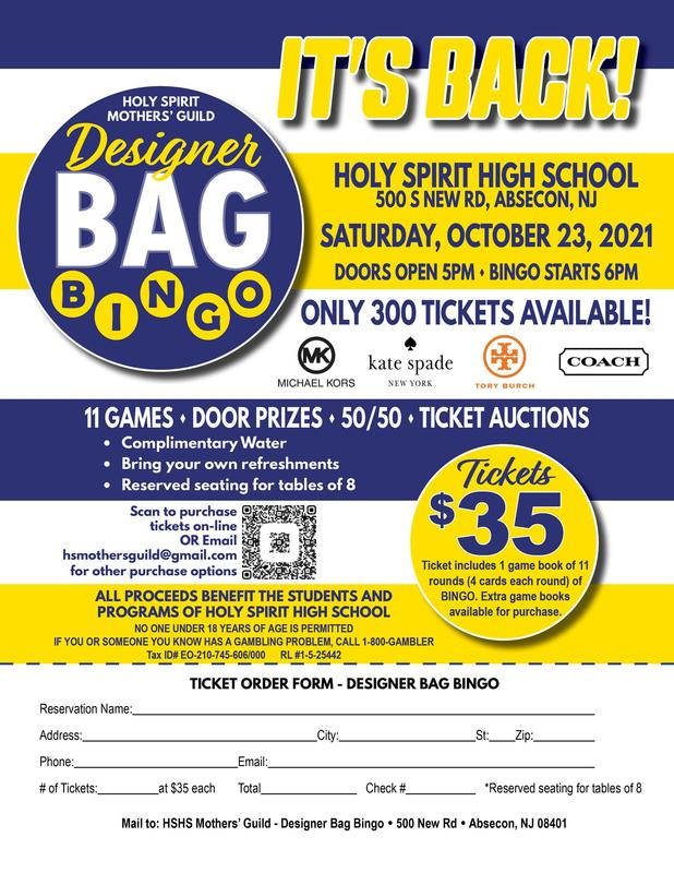 It's Back!  HSHS Mothers' Guild Designer Bag Bingo! Featured Photo