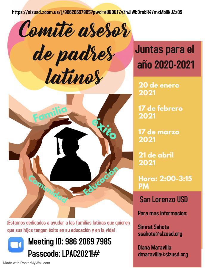 LPAC Flyer Spanish