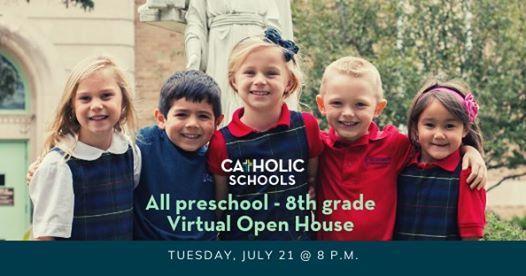 All Catholic Schools, Preschool-Grade 8, Virtual Open House Featured Photo