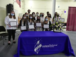 National Technical Honor Society Inductees