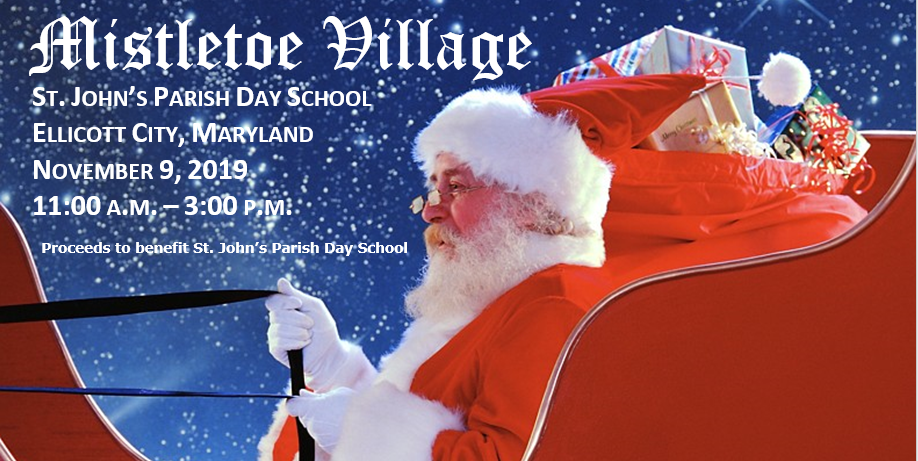 Mistletoe Village Flyer