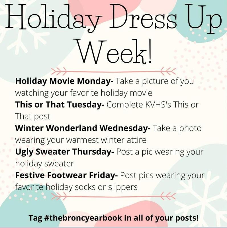 Holiday Dress Up Week Thumbnail Image