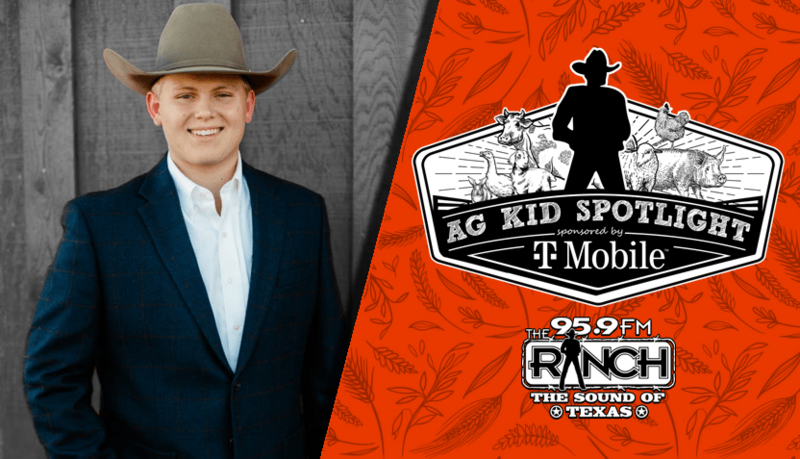 KHS Senior Kyle Real Nominated, Recognized in 95.9 The Ranch Ag Kid Spotlight Featured Photo
