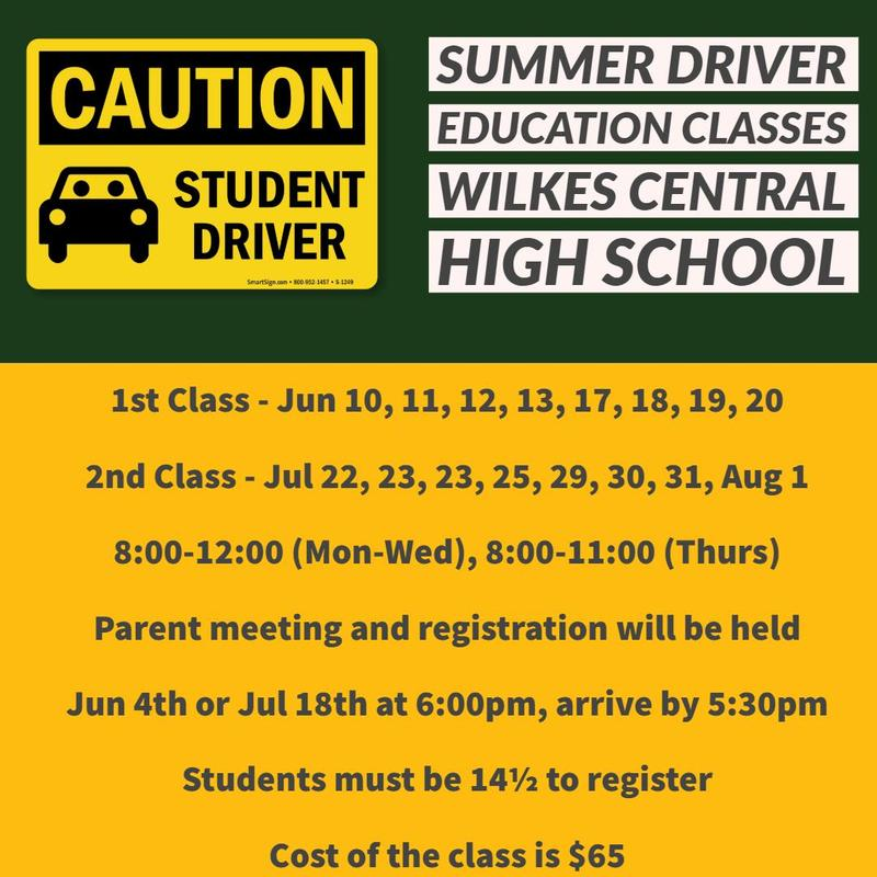 Summer Driver Education Classes Thumbnail Image