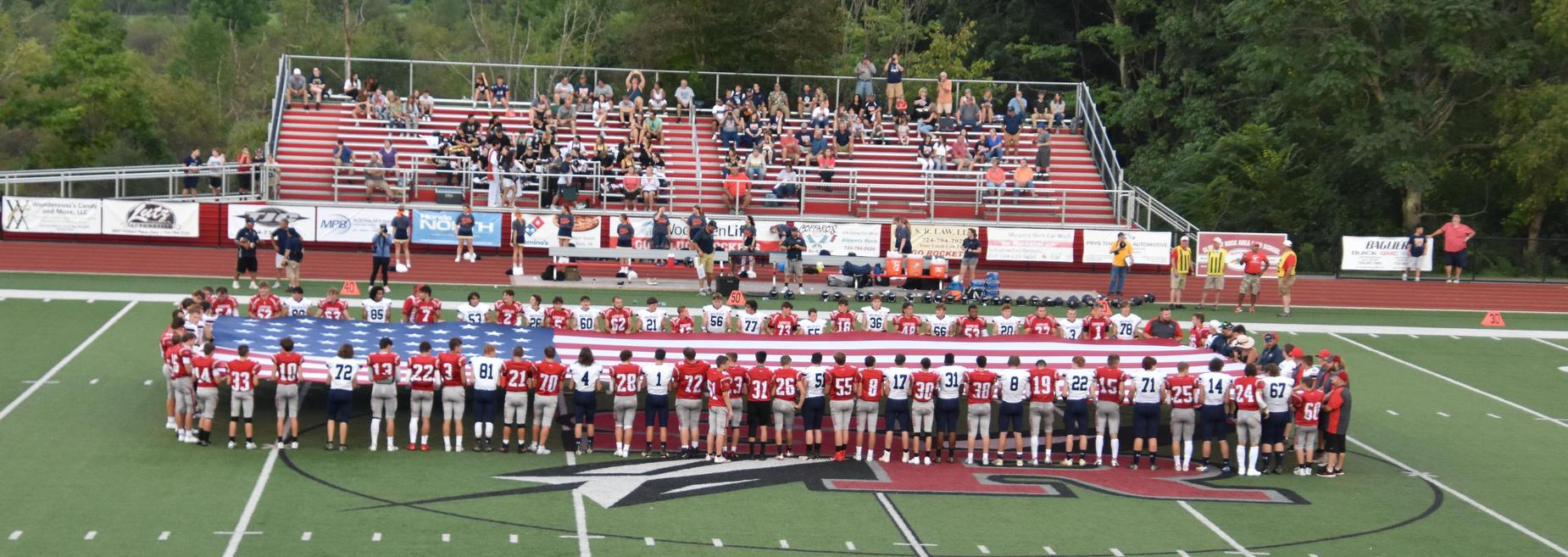 Game 1 - August 27, 2021 - Against Central Clarion