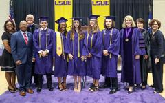 LSUE Academy Graduates from Opelousas High, Port Barre High, Northwest High, and Eunice High