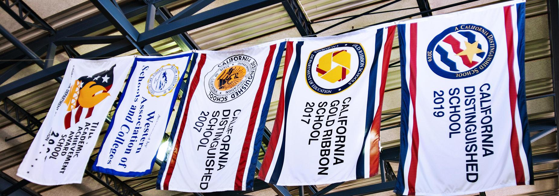 Flags of awards