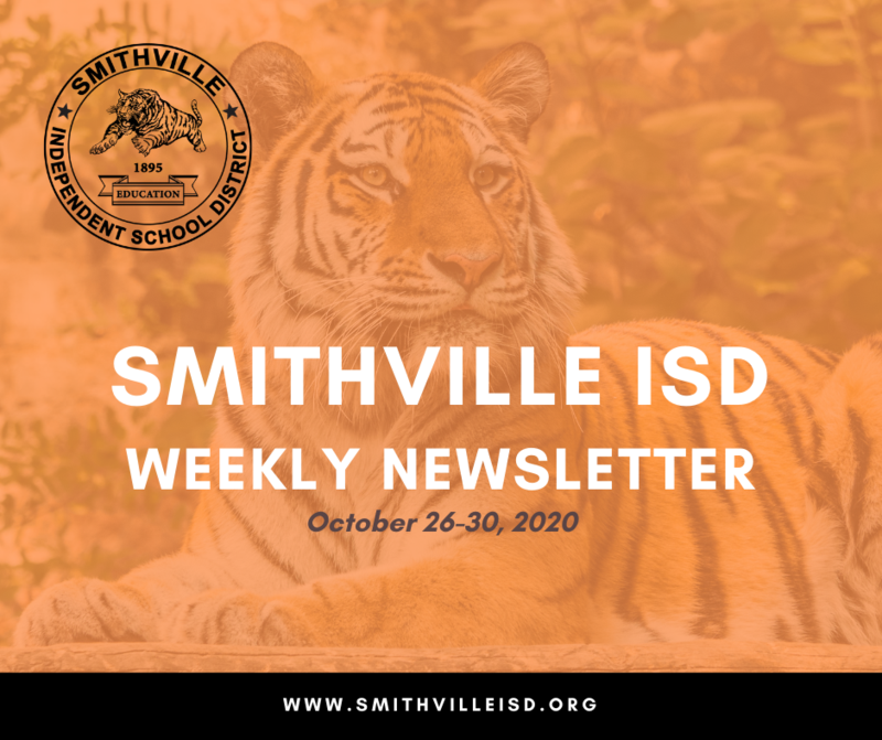 Weekly Newsletter Oct. 26-30