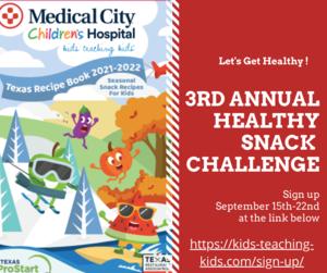 Healthy Snack Challenge sign up