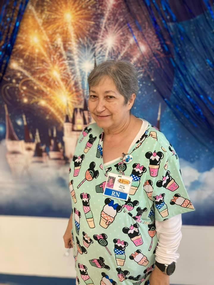 Nurse Jeanne Silva