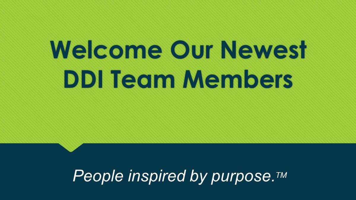 Welcome our newest team members