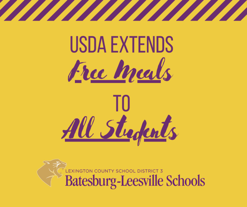 USDA Extends Free Meals To All Students Through End of December