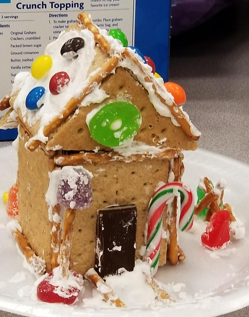 Gingerbread houses 2018