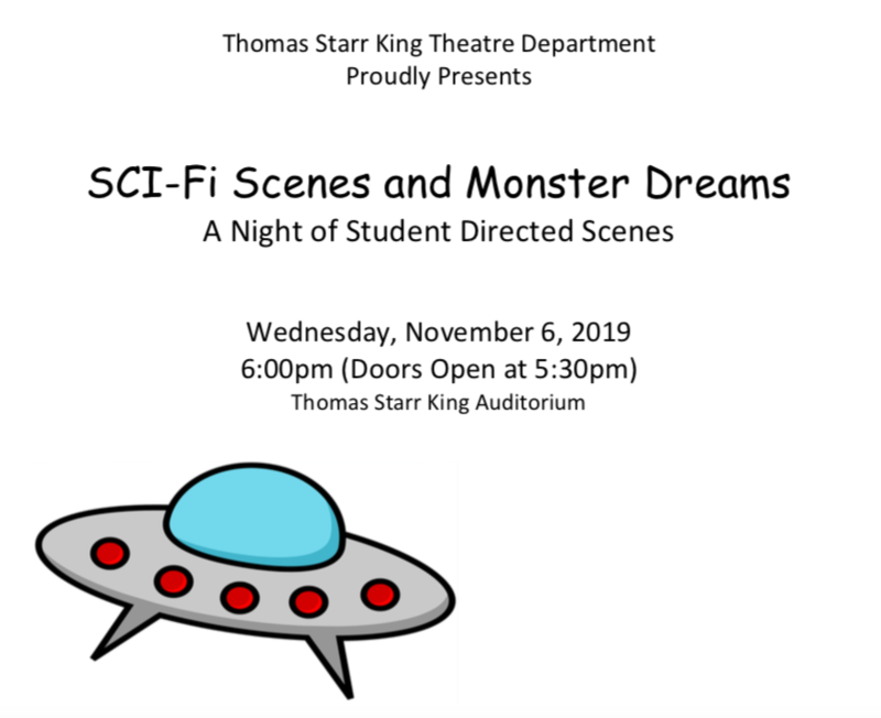 SCI-Fi Scenes and Monster Dreams A Night of Student Directed Scenes Featured Photo