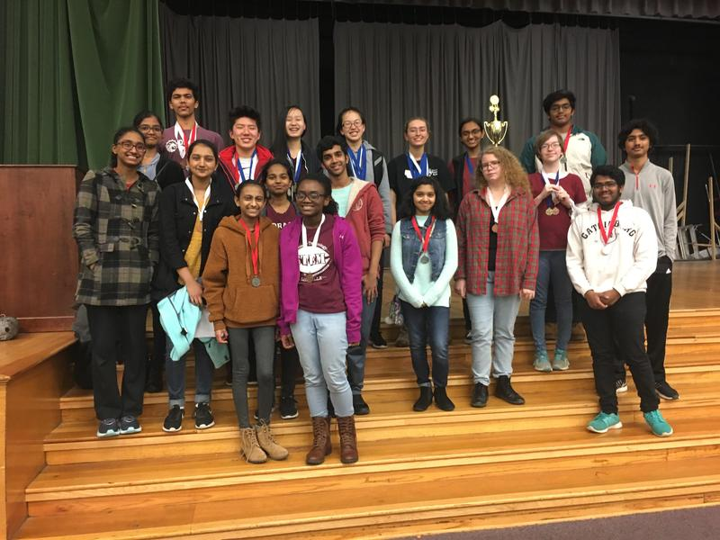 CHS Science Olympiad Teams Place 2nd at The White Station Invitational Featured Photo
