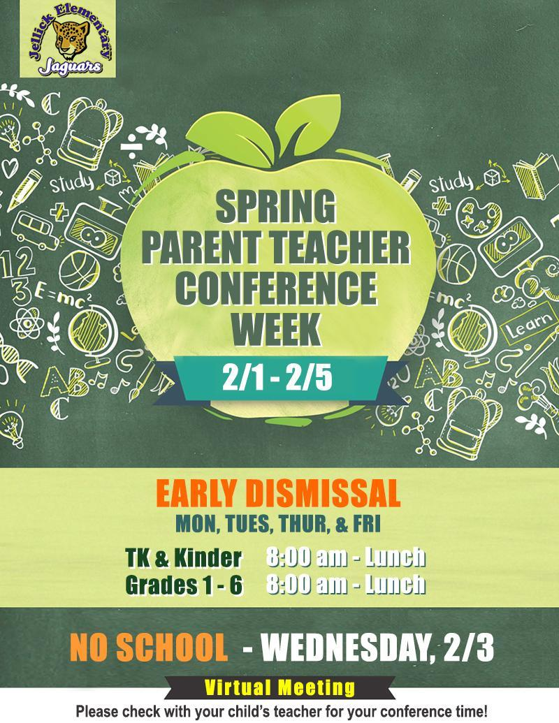 Spring Teacher and Parent Conference Week Featured Photo