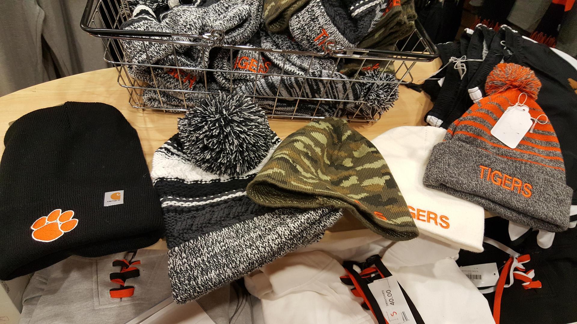 Assorted winter hats 18.00