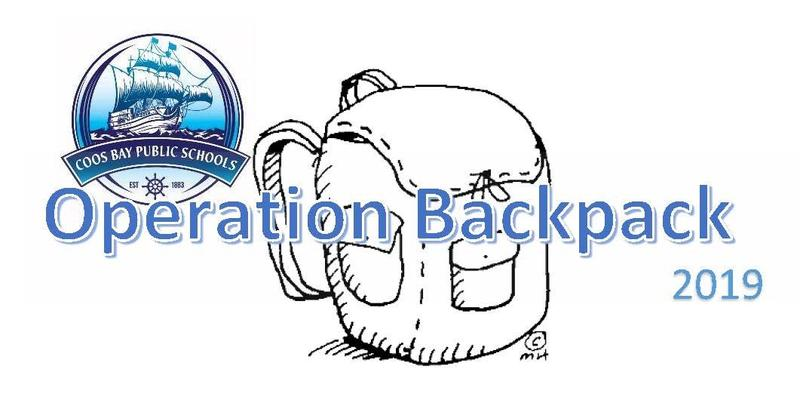 Coos Bay Schools Operation Backpack