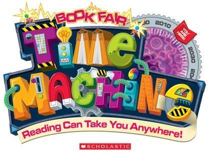 Scholastic Book Fair Theme Logo