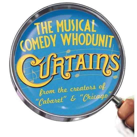 Logo for Curtains Musical