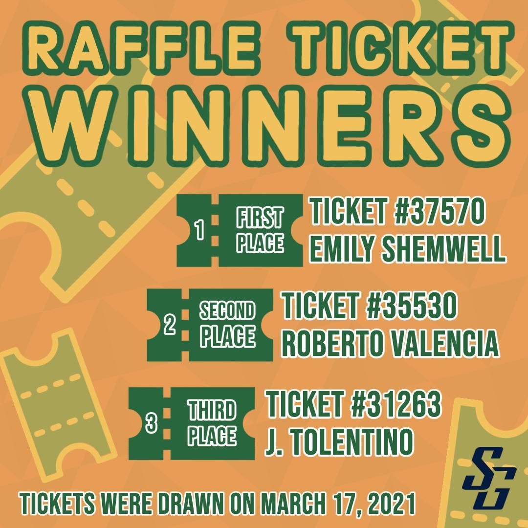 raffle ticket winners