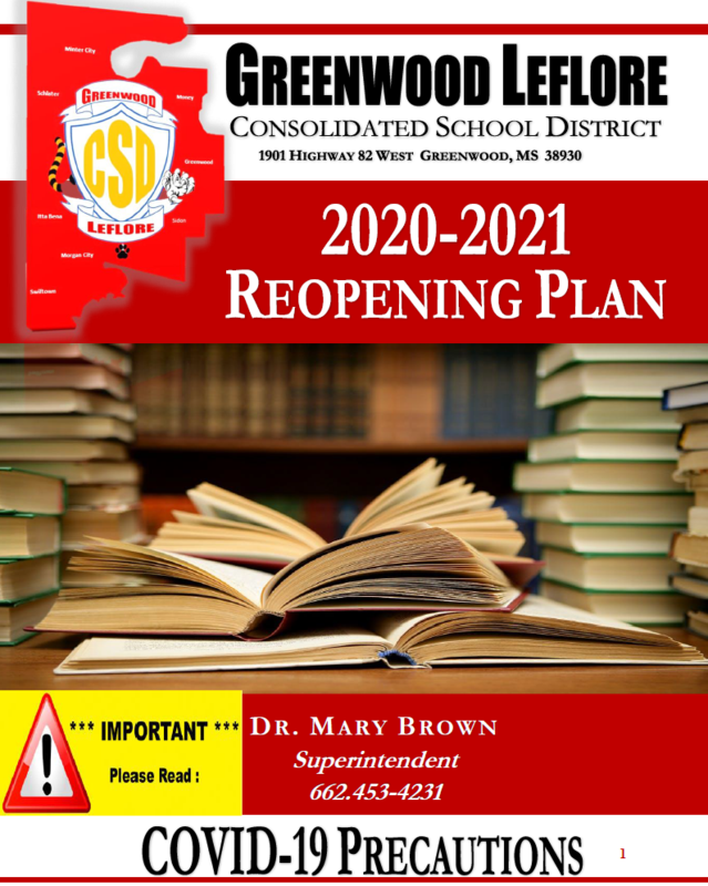 GLCSD School Reopening Plan Featured Photo