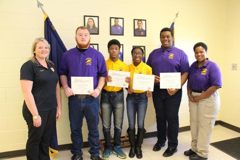 B-L High School Students Make History By Earning Emergency Telecommunicator Certifications