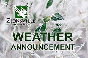 ZCS weather announcement