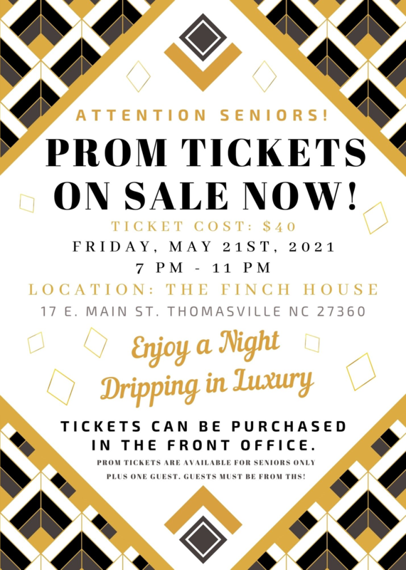 Prom 2021 Flyer