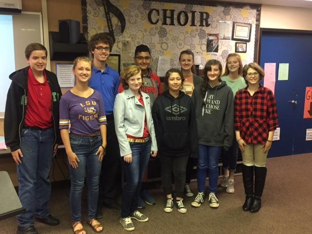 All-Region Choir Members