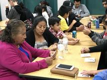Webber Families Gather for Pizza and Fun During Bingo Night