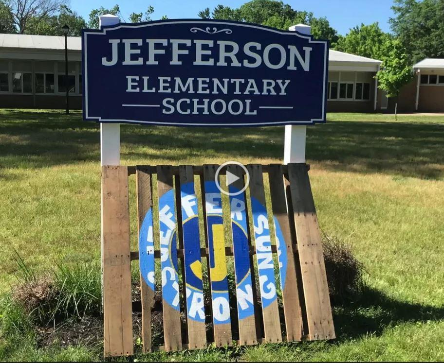 Photo of Jefferson Strong sign.