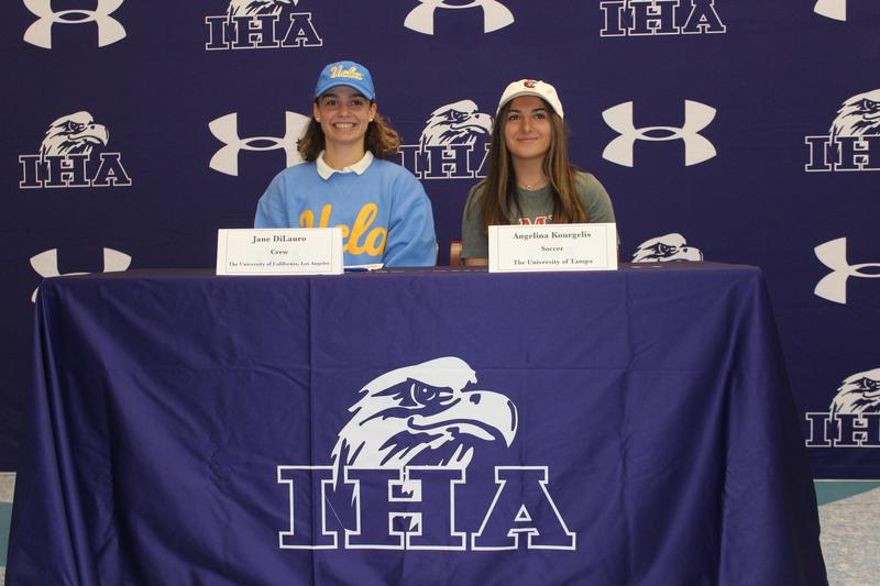 Two Seniors Sign to Colleges Thumbnail Image