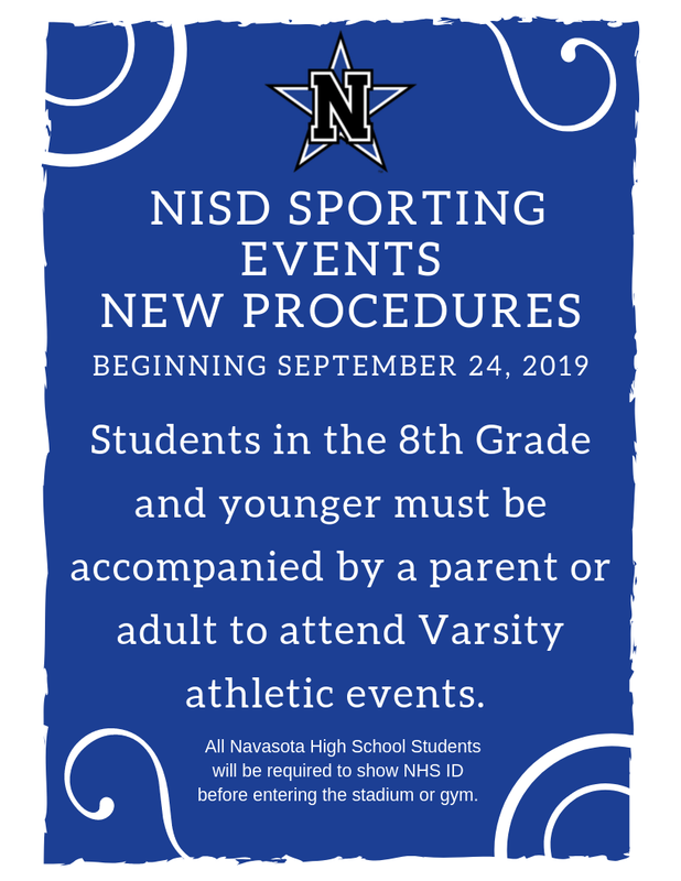 NISD Sporting Events NEW PROCEDURES Featured Photo