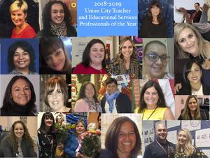 Teacher of the Year Picture Collage