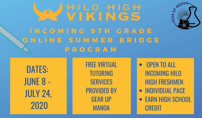 Summer Bridge Offered For Incoming 9th Grade Students Featured Photo