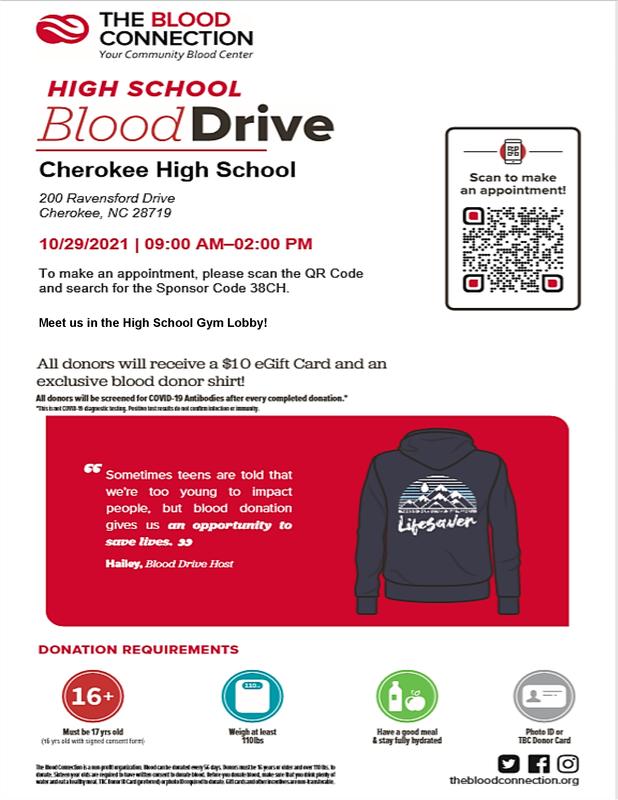 10-29-21 CHS Blood Drive