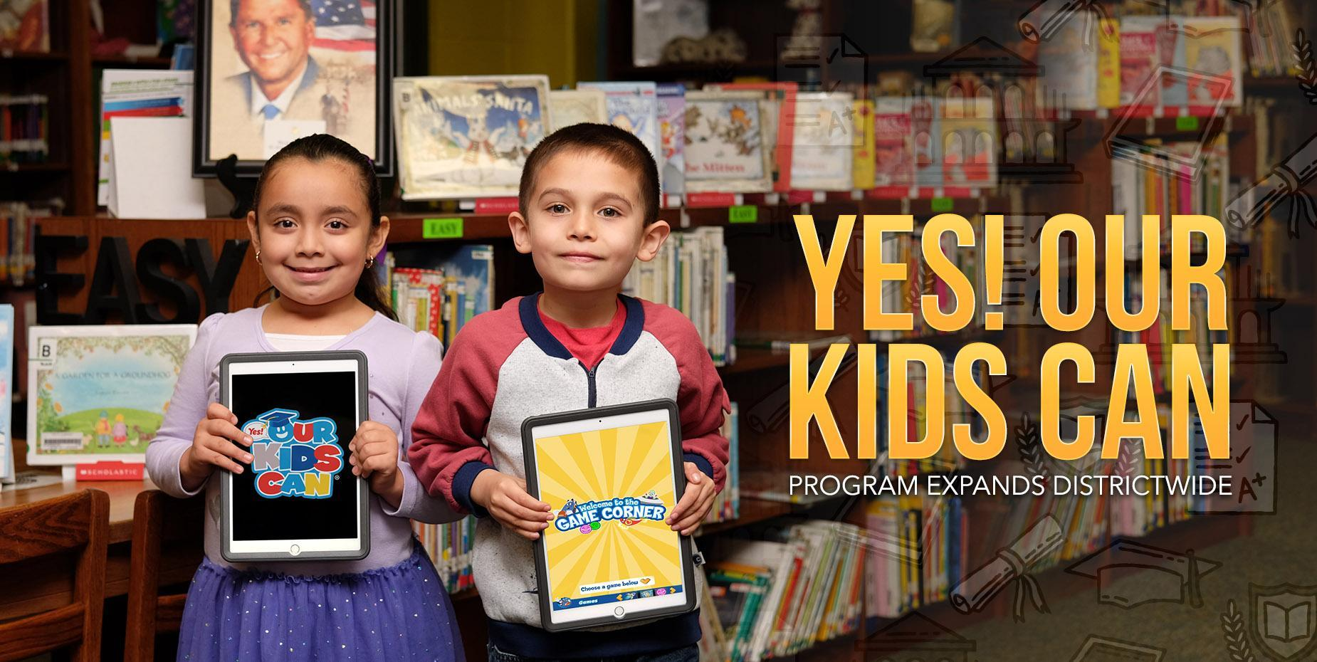 Yes! Our Kids Can program expands districtwide