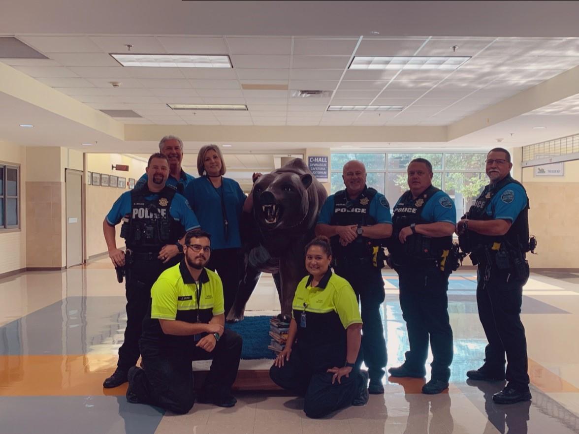 WSISD Prolice Department Group Photo