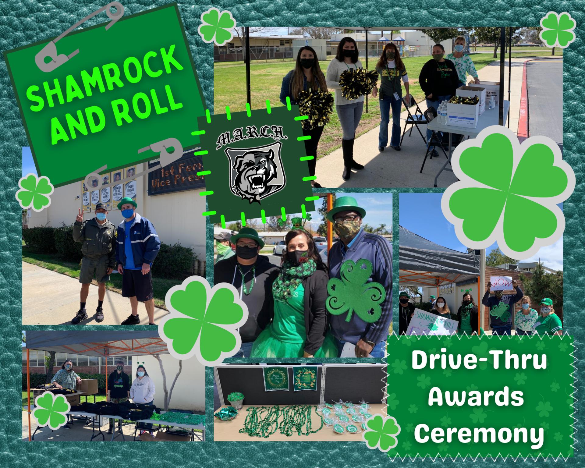 Shamrock and Roll Drive-Thru Awards