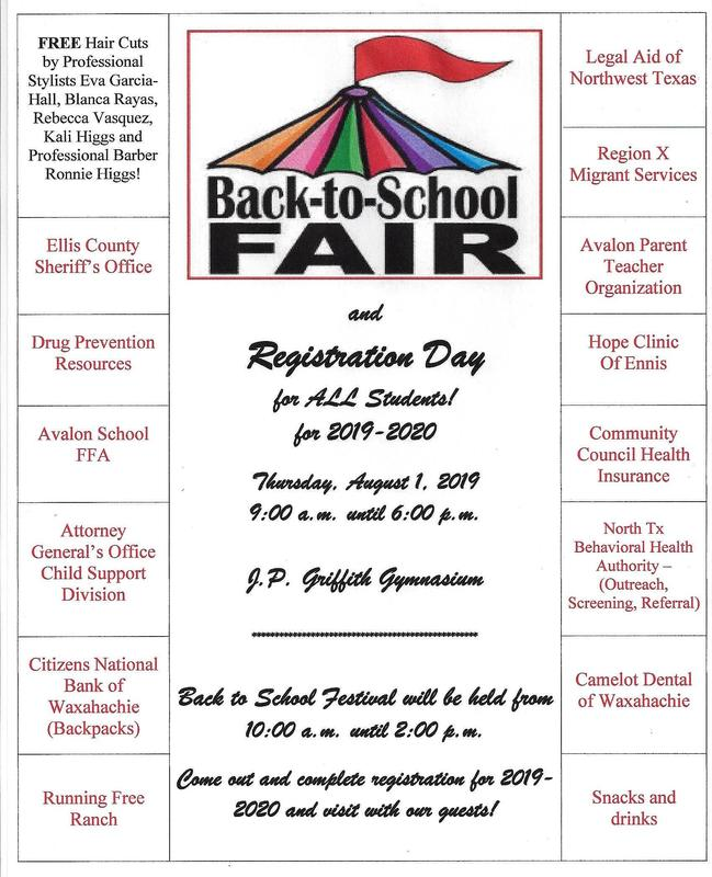Back to School Fair Coming August 1! Featured Photo