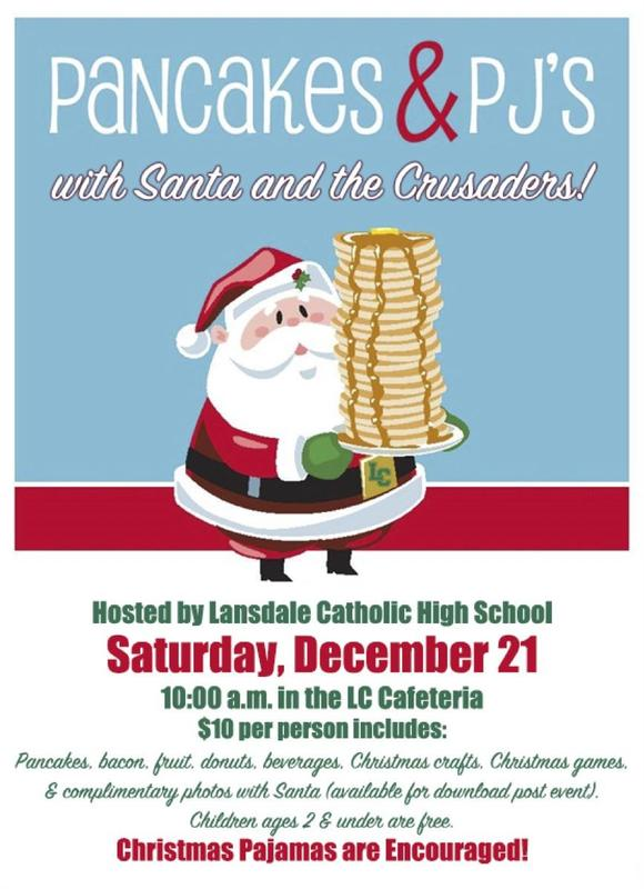 Saturday, December 21 @ 10 AM Breakfast With Santa Featured Photo