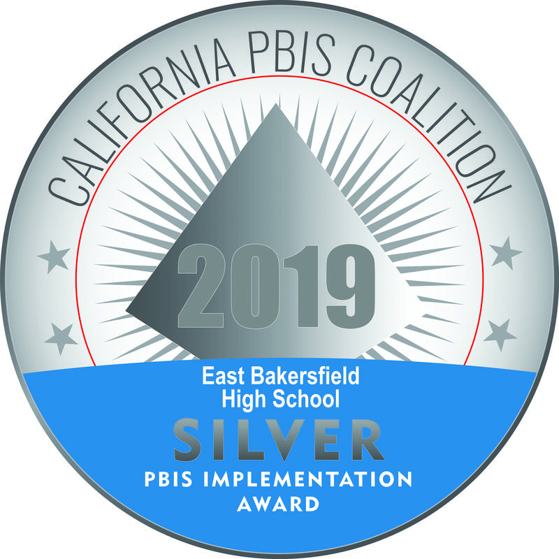 East Bakersfield High School Earns Silver in State PBIS Honor Thumbnail Image