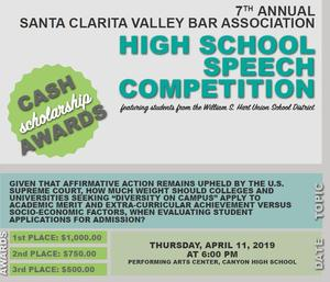 high school competition