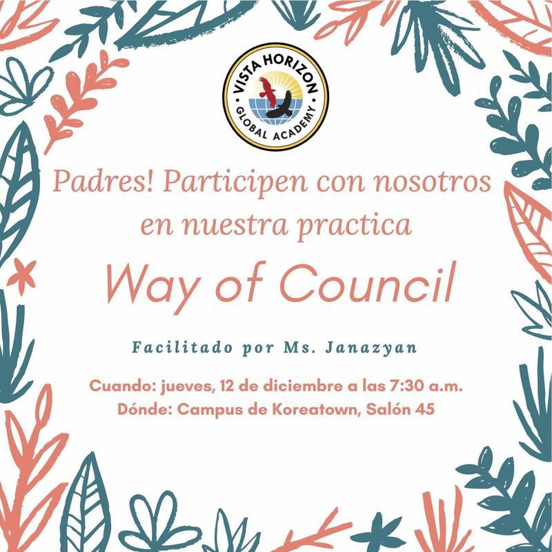 Forma de council for parents flyer