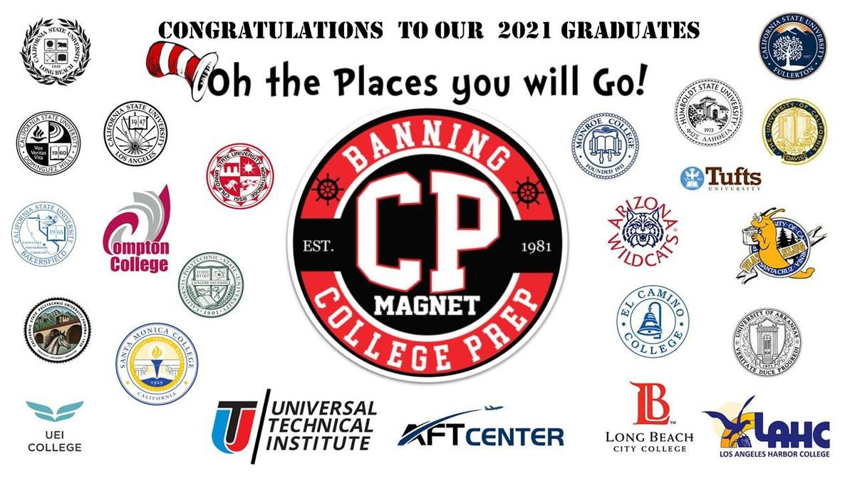 2021 CP Magnets Graduates