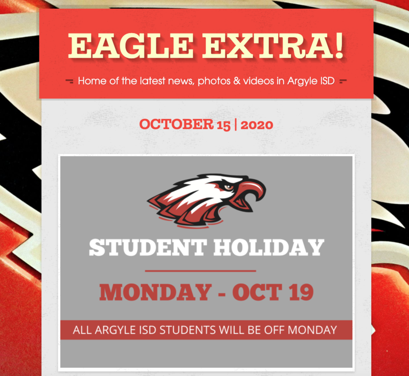 Eagle Newsletter