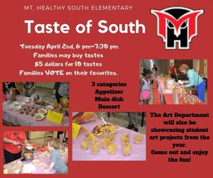 Taste of South graphic