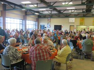 About 150 guests attended the second annual all-class TK reunion dinner.