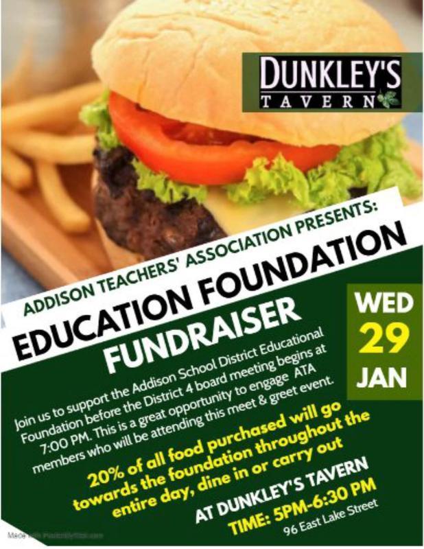 ATA Fundraiser Flyer - English